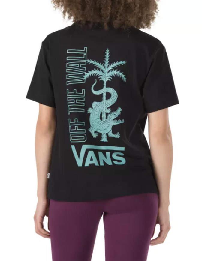 Vans Boxy T-Shirt Donna Nera