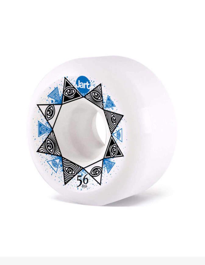 Ruote skateboard Jart Bondi  56mm Illuminati 83B