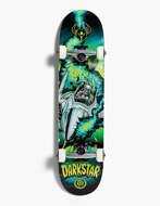 "Skateboard completo Darkstar Explode FP Mini Soft Wheels Green 7.0"""