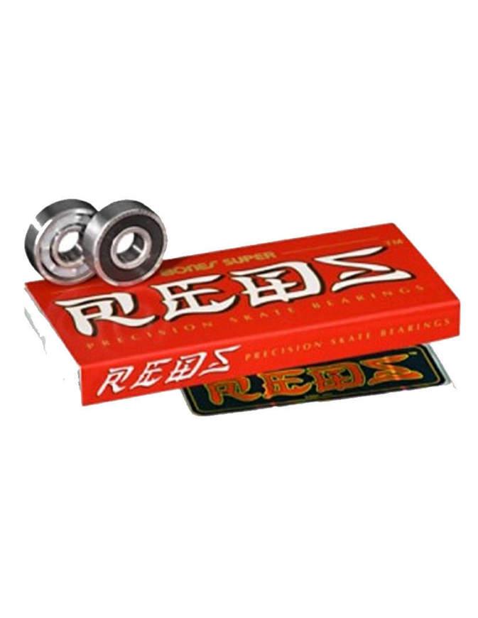 Bones China Super Reds Confezioni 8 pezzi cuscinetti skate