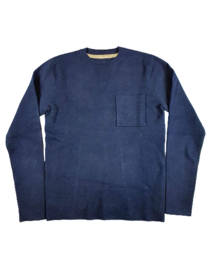 Anerkjendt Maglione Akrok Knit Blu