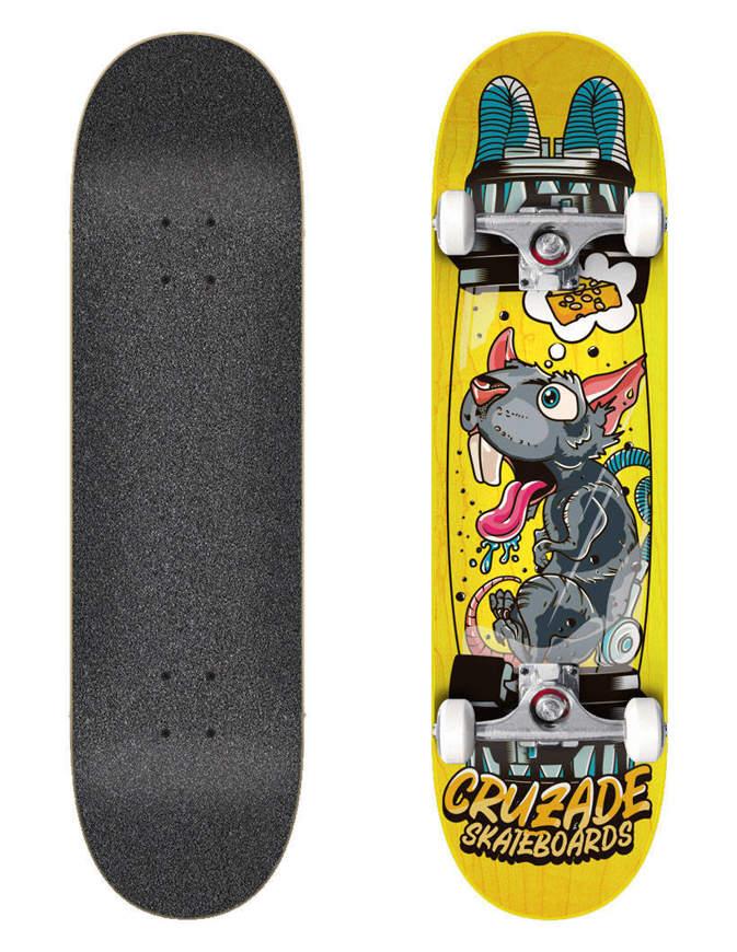 "Skateboard Cruzade Clone 8.25"" x31.85"" Completo"