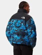 THE NORTH FACE Giacca Ripiegabile Uomo 1996 Retro Nuptse Blu Camo
