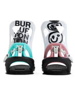 BURTON Step on 2021 Attacchi Snowboard Uomo Black / Multi / Graphix