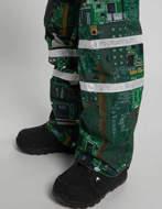 BURTON Analog Bib Pantaloni Snowboard Circuits