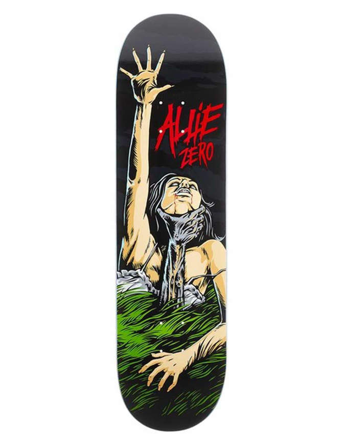 Tavola Skate Zero Skateboards Allie Death Grips  8.375""