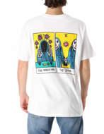 RVCA T-Shirt SB Tarot Bianca