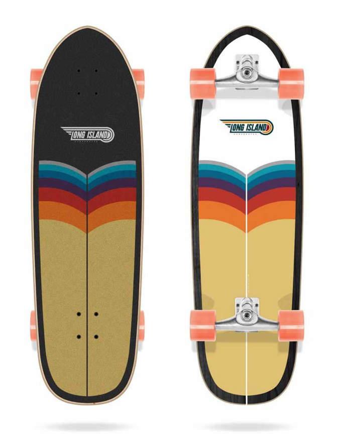 "Surfskate Long Island Trestles 34"" completo"