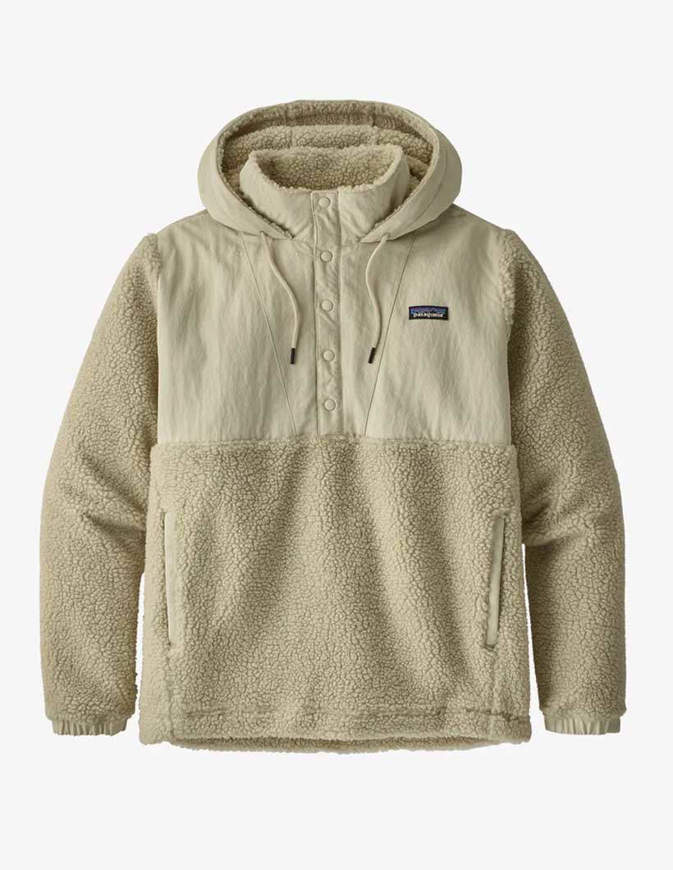 Patagonia Giacca Uomo Shelled Retro-X® Fleece Off-White