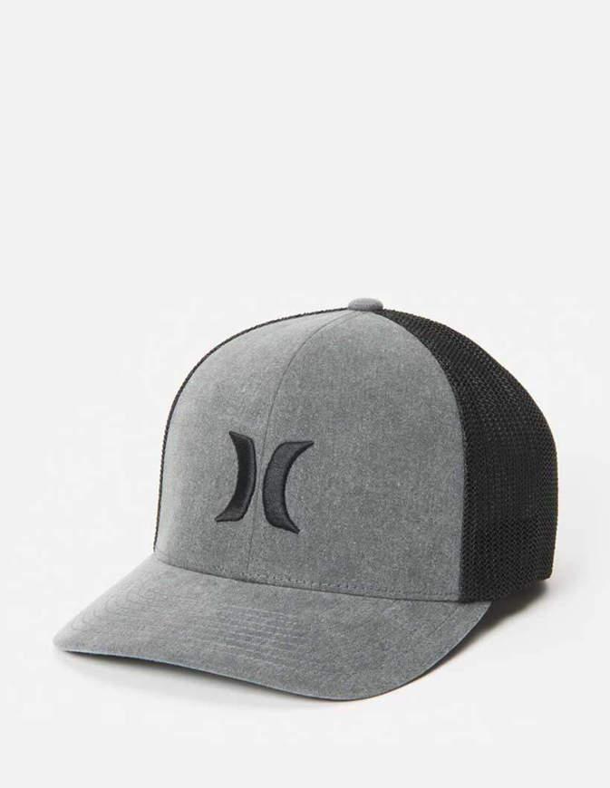 Hurley Cappello Icon Textures Hat Grigio