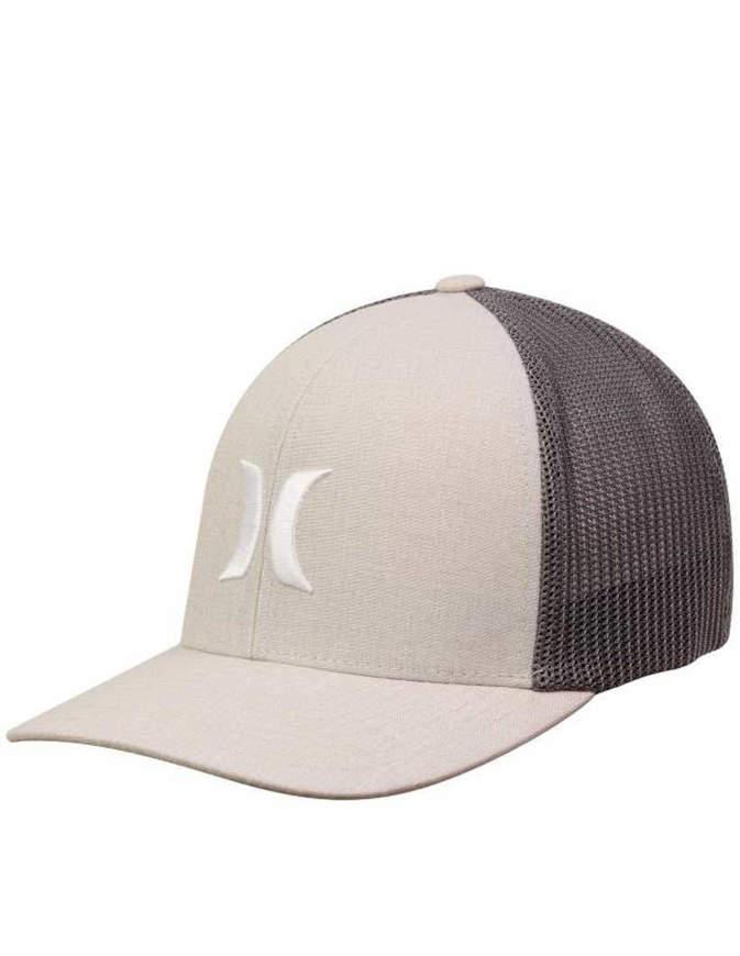 Hurley Cappello Icon Textures Hat Light Bone