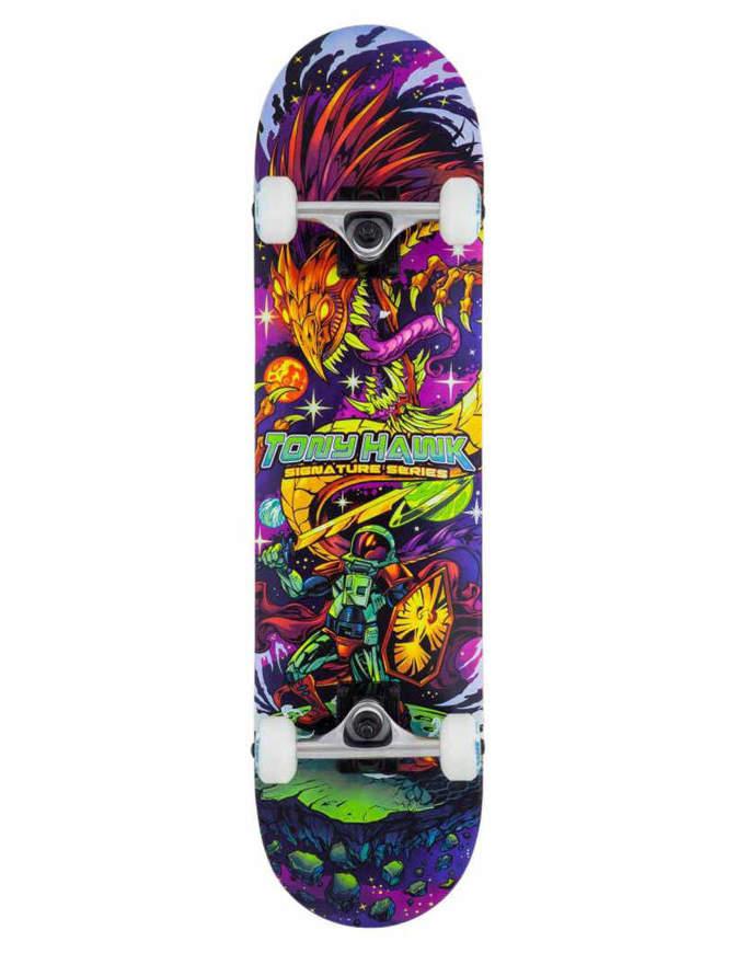 Tony Hawk SS 360 Skateboard 7.75 Cosmic Multi