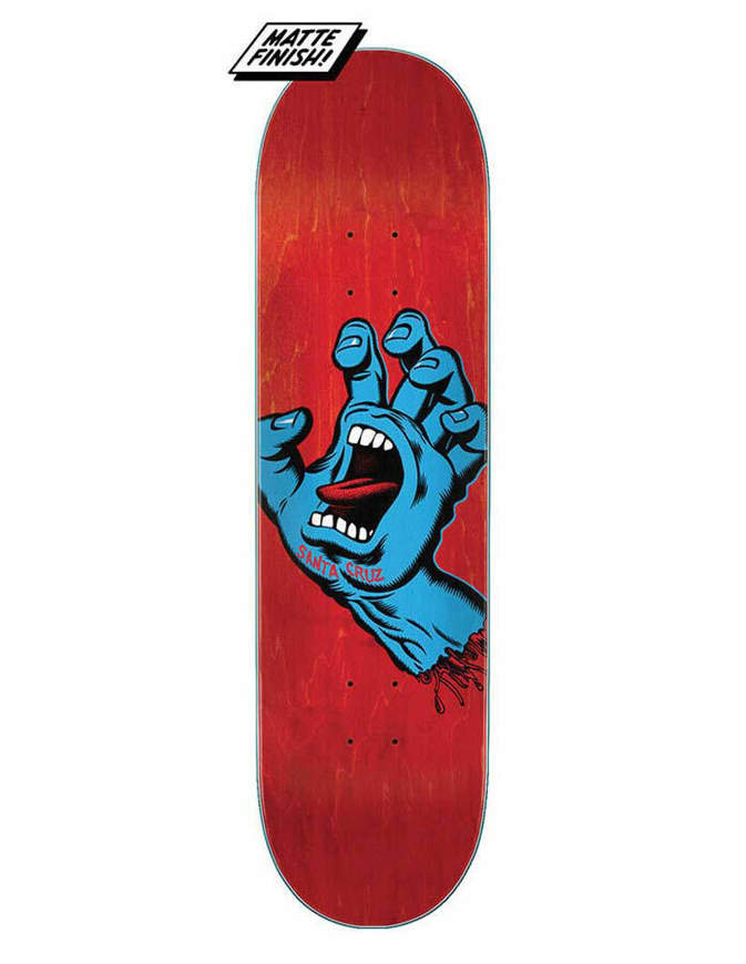 Tavola Skate Santa Cruz Screaming Hand 8.0in