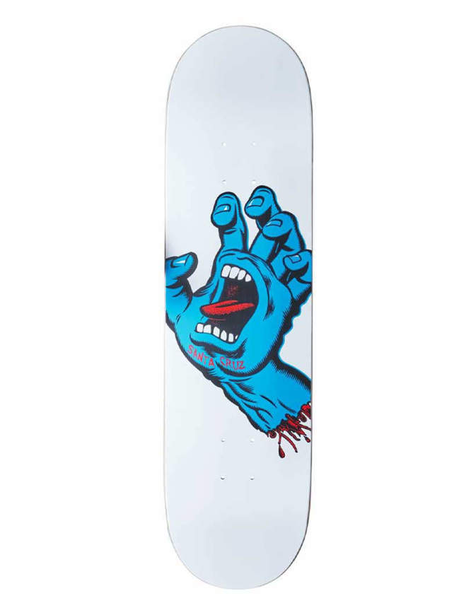 Tavola Skate Santa Cruz Screaming Hand 8.25in