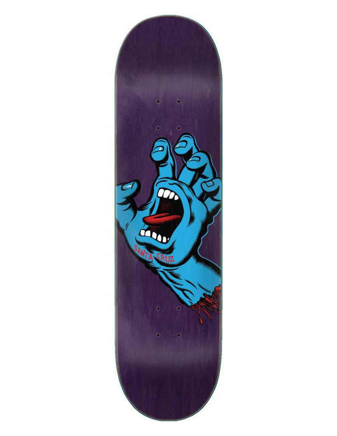Tavola Skate Santa Cruz Screaming Hand 8.375in