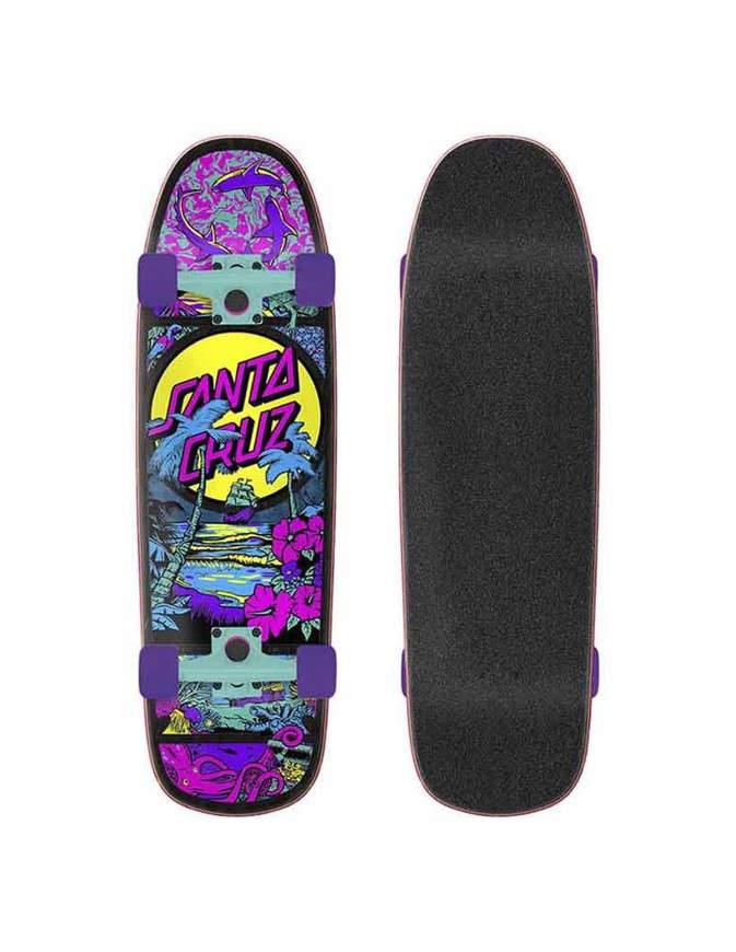 Skateboard Santa Cruz Time Warp 9.51 Completo