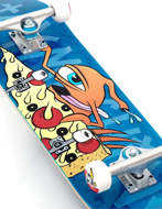 """Skateboard Toy Machine Pizza Sect 7.75"""" Completo"""