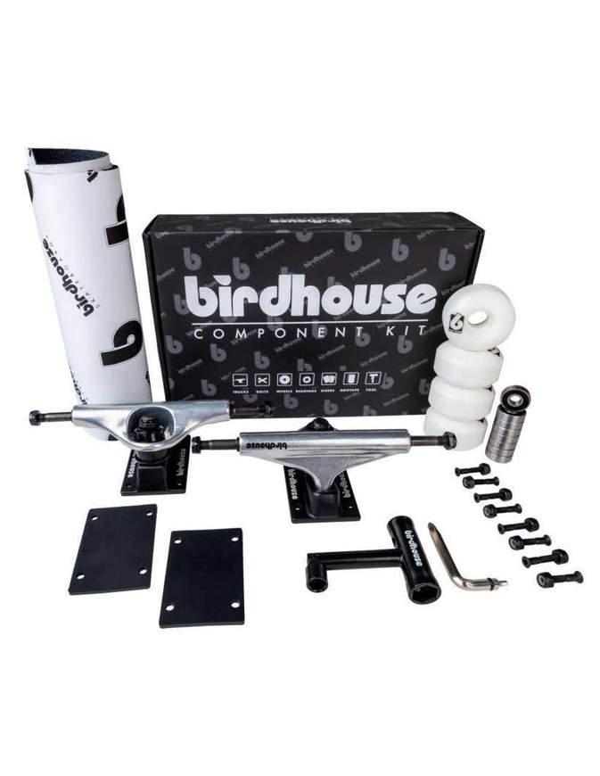 Birdhouse Component Kit 5.25 Silver/Black