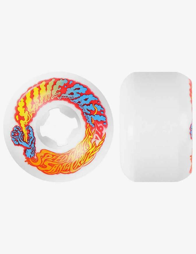 Ruote skateboard Santa Cruz 53mm Vomit Mini White 97a