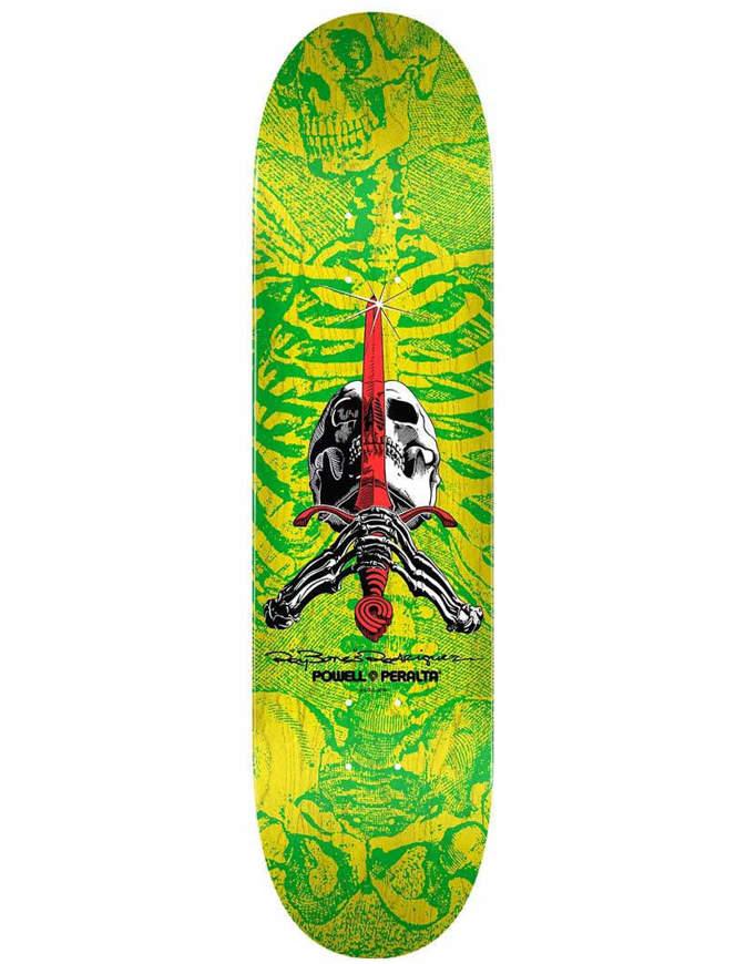"Tavola Skate Powell Skull & Sword 8.5"""