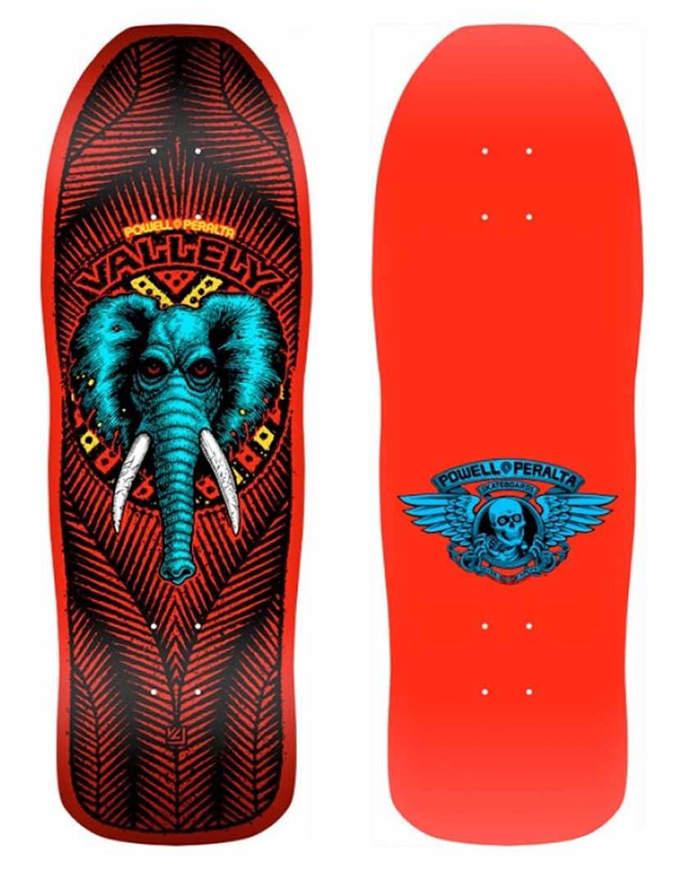 "Tavola Skate Old School Deck POWELL PERALTA Vallely Elephant 10,5"""