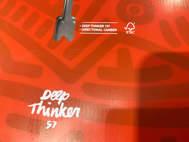 Deep Thinker 157 Snowboard Usata Perfette Condizioni