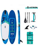 """AZTRON Mercury 2.0 All Round 10'10"""" Double Chamber Sup Inflatable"""