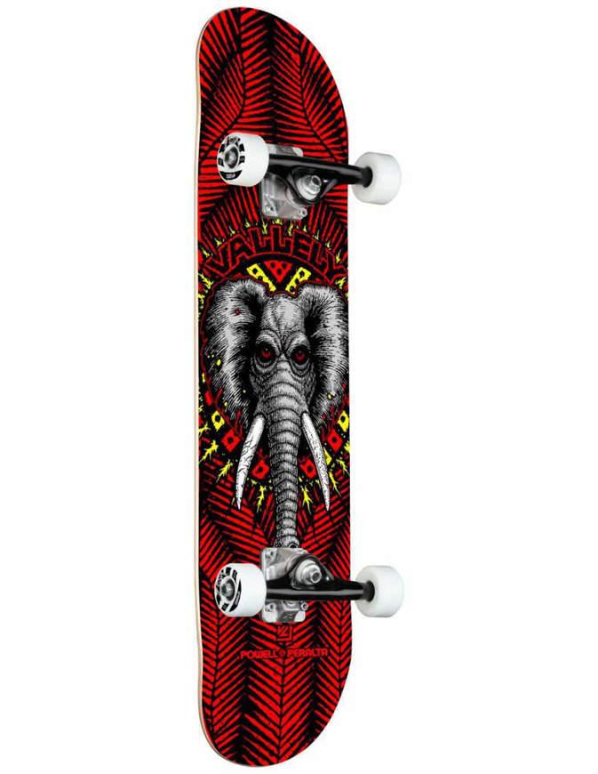 "Skateboard Completo Powell Peralta Birch 8.25"" Vallely Elephant"