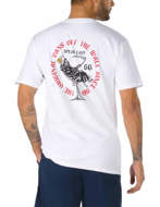 Vans T-Shirt Manica Corta Speak Easy Bianca