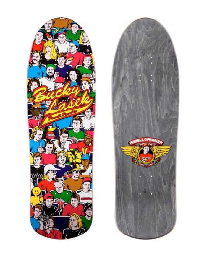 "Tavola Skate Old School Deck POWELL PERALTA Bucky Lasek  10"""