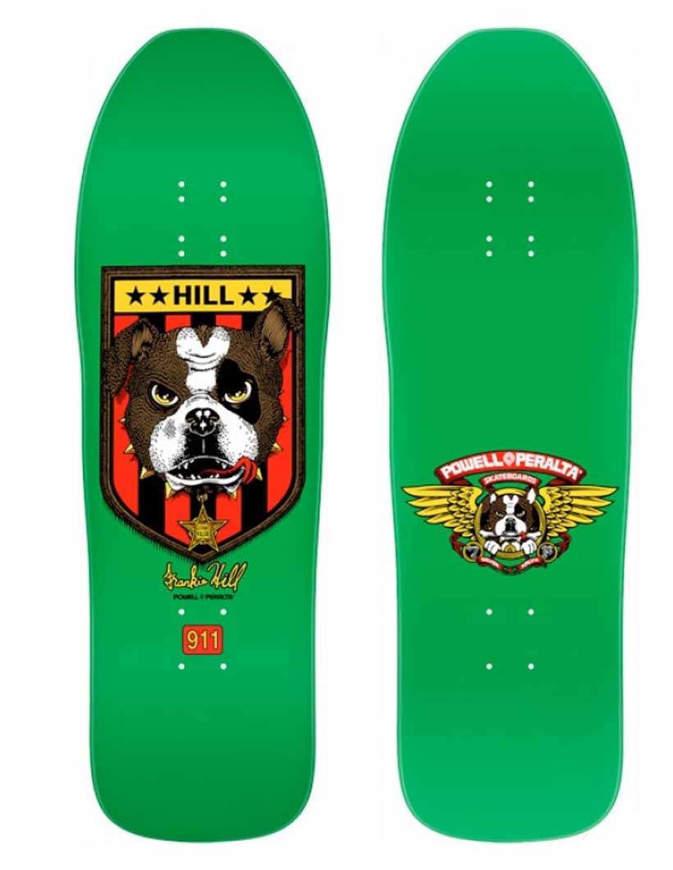 """Tavola Skate Old School Deck POWELL PERALTA Frankie Hill Bulldog 10"""""""