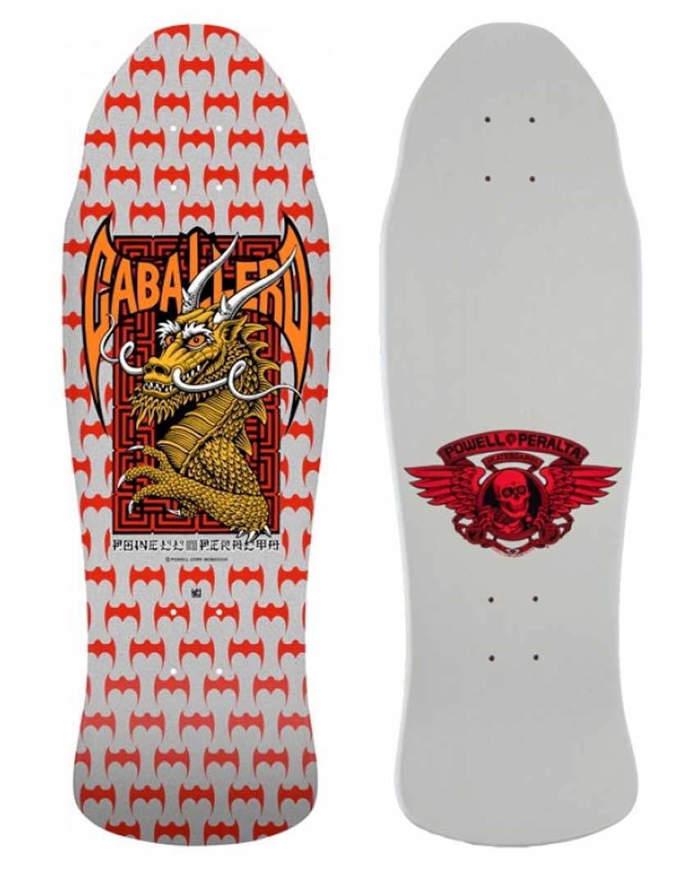 "Tavola Skate Old School Deck POWELL PERALTA Caballero Street 9.625"""