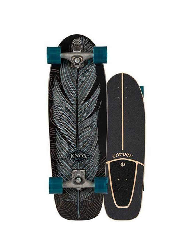 """Surfskate Carver Knox Quill 31.25"""" Completo CX"""