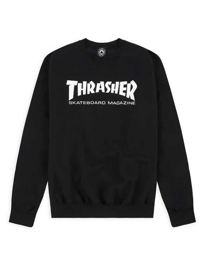 THRASHER Felpa Skate Mag Crewneck Nera