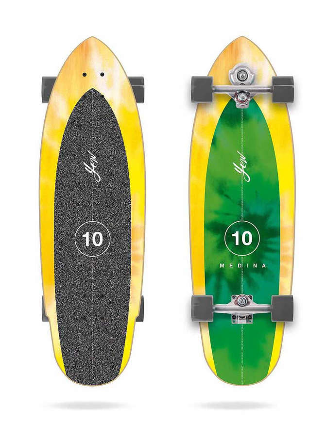 "Surfskate Yow Medina Tie Dye 33"" Signature Series Complete"