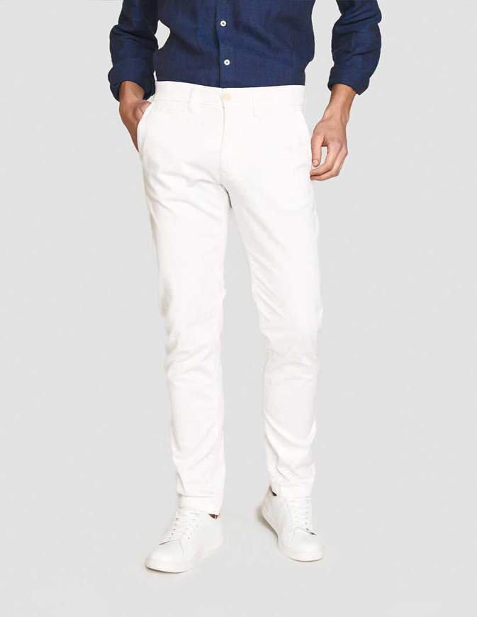 NORTH SAILS Pantaloni Chino Slim Fit Bianchi