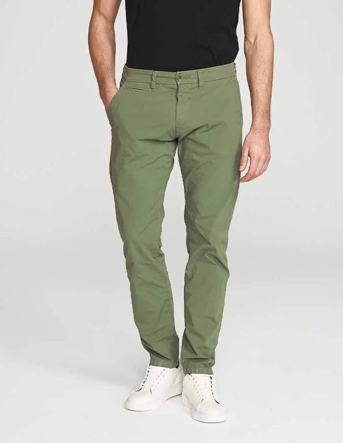 NORTH SAILS Pantaloni Chino Slim Fit Verdi
