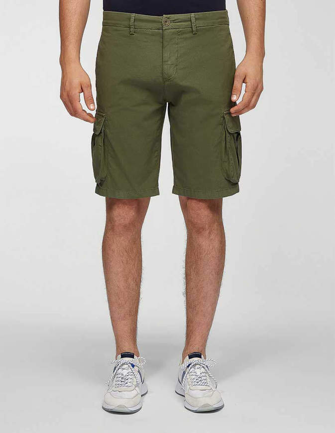 NORTH SAILS Pantaloncini Cargo Short Regular Verdi