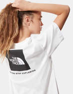 The North Face T-Shirt Redbox Donna Bianco/Nero