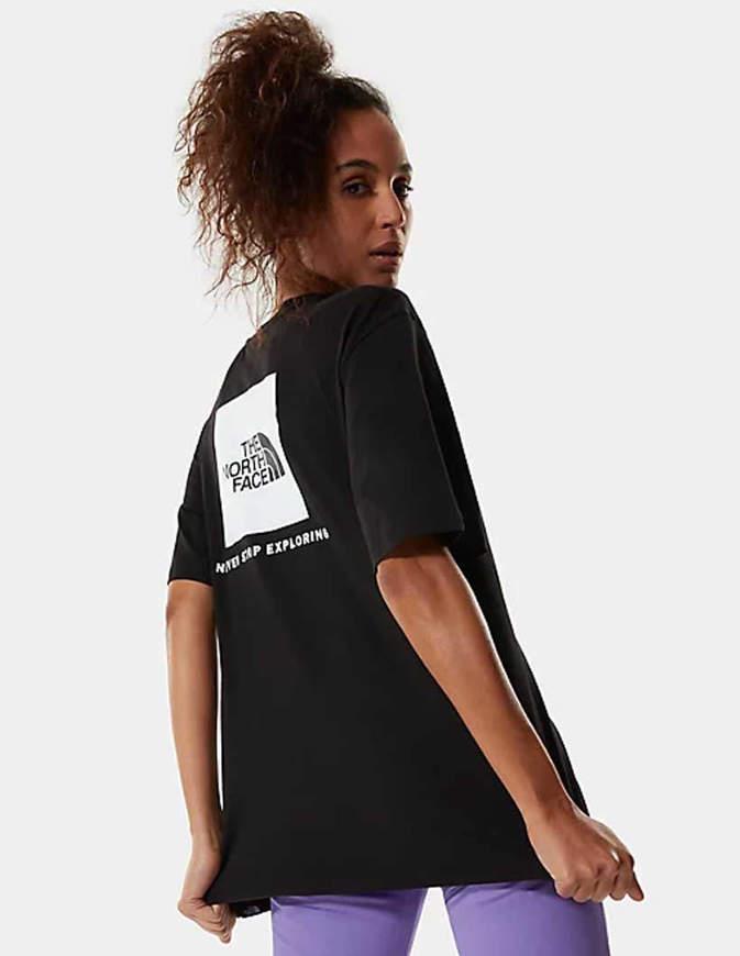The North Face T-Shirt Redbox Donna Nera