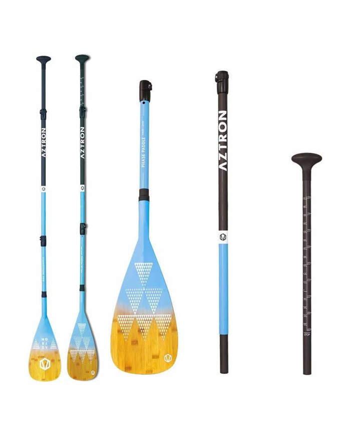 AZTRON Phase Bamboo Carbon 3 Pezzi