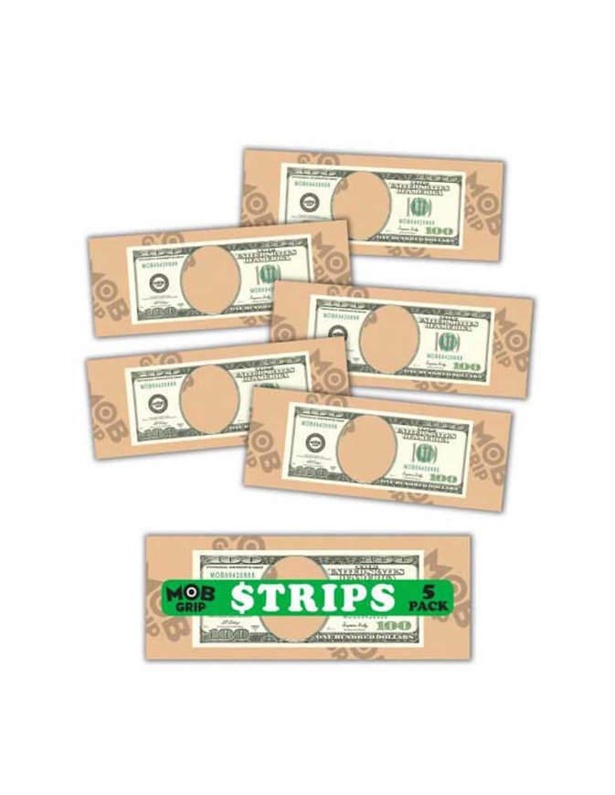 Mob - Grip Tape Grafica Hundos Strips Clear 9 x 25 Bg/5