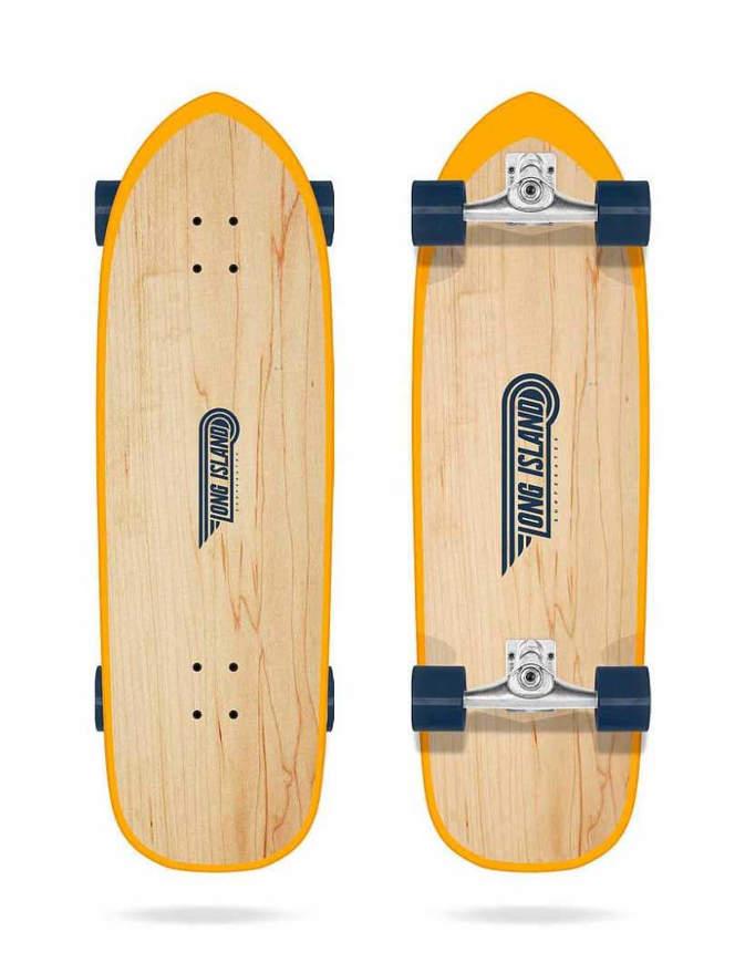 "Surfskate Long Island Baja 32"" Completo"