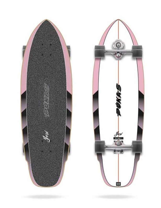 Surfskate PUSKAS x YOW RVSH 33″ Completo