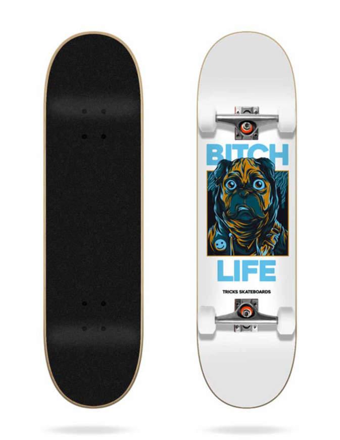 """Skateboard Tricks Life 7.87"""" Completo"""