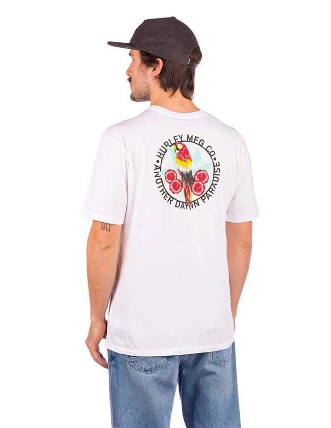 Hurley Evd Wsh Parrot T Shirt S/S Bianca