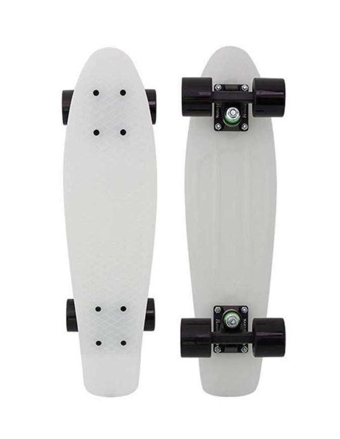 "Skateboard Penny Cruiser Casper Glow in The Dark 27"" Completo"