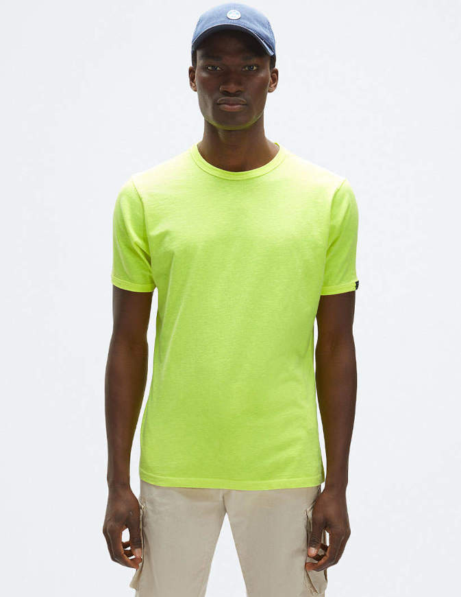NORTH SAILS T-Shirt Organic Cotton GIallo Fluo