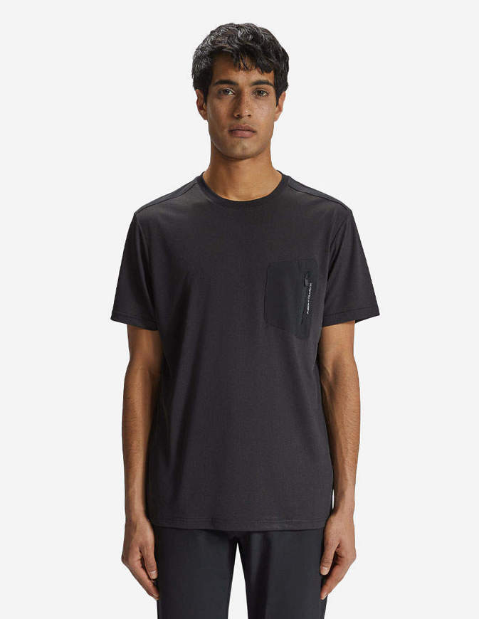 NORTH SAILS T-Shirt con Taschino Cotton Jersey Nera
