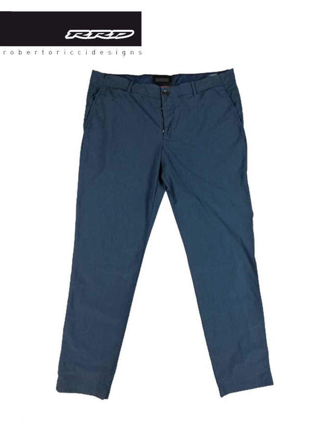 RRD Pantaloni Techno Wash Chino Blu